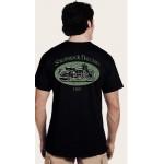Shamrock Nation Motorcycle USA Short Sleeve T-Shirt