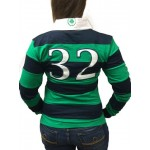Women's Striped Rugby Shirt