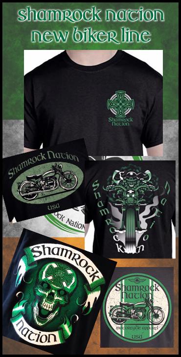 Shamrock Nation New Biker Line